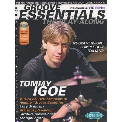 Tommy Igoe - Groove Essentials - The Play-Along (Italian Edition)