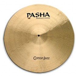 "Pasha Cotton Jazz Ride 21"" Con Rivetti CJ-RV21"