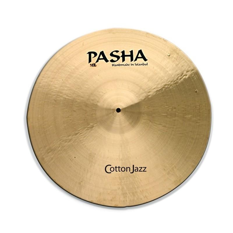 """Pasha Cotton Jazz Ride 21"""" Con Rivetti CJ-RV21"""