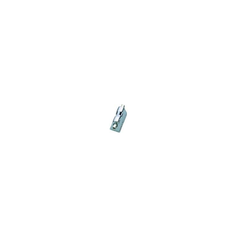 Blocchetto per Rullante basso profilo - Cromato a doppia entrata