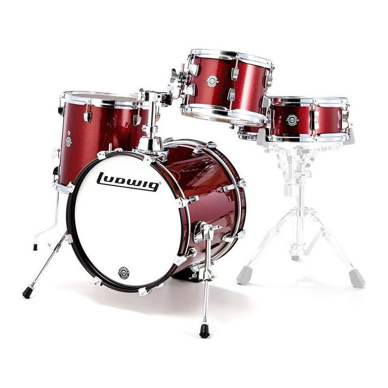Ludwig Breakbeats bY QuestLove Wine Red Sparkle - LC179X025