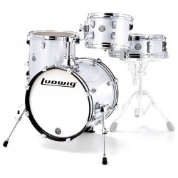 Ludwig Breakbeats bY QuestLove White Sparkle - LC179X028