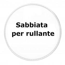 "Pelle per Rullante 14"" Sabbiata BATTENTE"