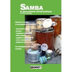 Samba & Percussioni Afrobrasiliane di A. Gentile  Edizioni DrumsetMag