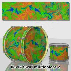 Swirl multicolore
