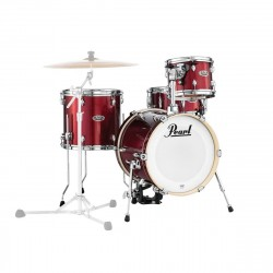 Pearl Midtown set di 4 fusti, Black Cherry Glitter