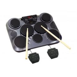 Batteria Elettronica Medeli DD315 con 7 pad e 2 pedali, Bacchette incluse!