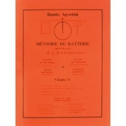 DANTE AGOSTINI METHODE DE BATTERIE VOL. 4