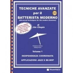 Chapin Jim - TECNICHE AVANZATE PER IL BATTERISTA MODERNO + CD