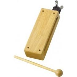 Wood Block grande con battente e morsa per aggangio