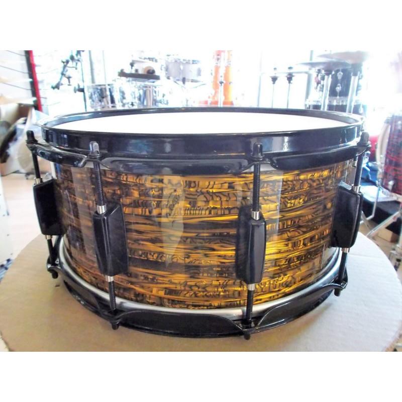 "Rullante Drum Stroke 14""x6"" Betulla finitura Gold Oyster"