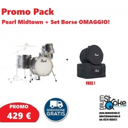 PROMO PACK Pearl Midtown Grindstone Sparkle + Bag OMAGGIO!