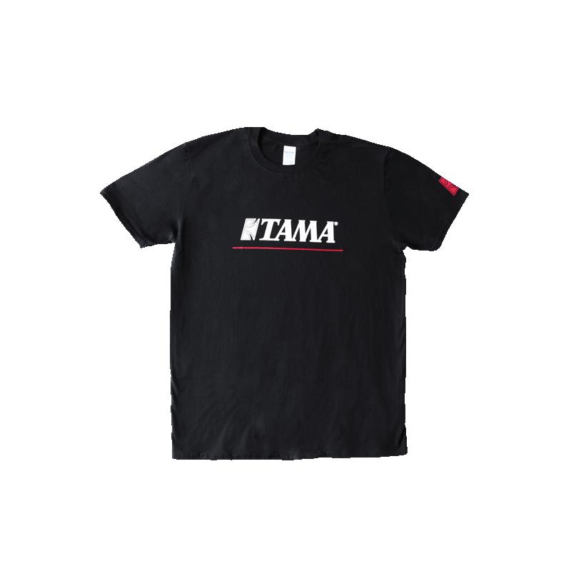 TAMA T-Shirt Logo BK/RED - TAMT003
