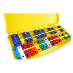 Classic Glockenspiel Metallofono Xilofono Cromatico 25 Note