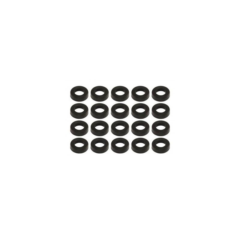 Sparedrum CB-B - Rondella Nylon per Vite Tirante - Nera (x20)