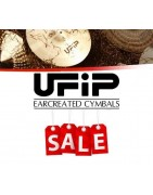 OUTLET! Ufip Cymbals 30% discount