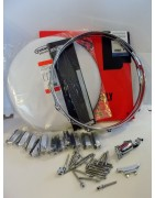 Hardware + Drumheads for snare assembly