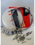 Pacchetti Hardware+Pelli per assemblaggio rullante