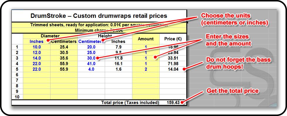 Custom DrumWraps