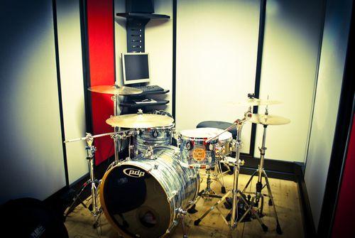 sala prove per batteristi